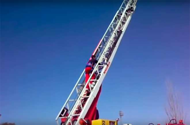 subir escala requisito bombero